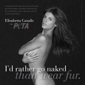 Elisabetta Canalis se dévoile entièrement nue