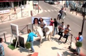 Le mariage de Moundir : Tel un prince, il a fait sa demande sur un cheval blanc