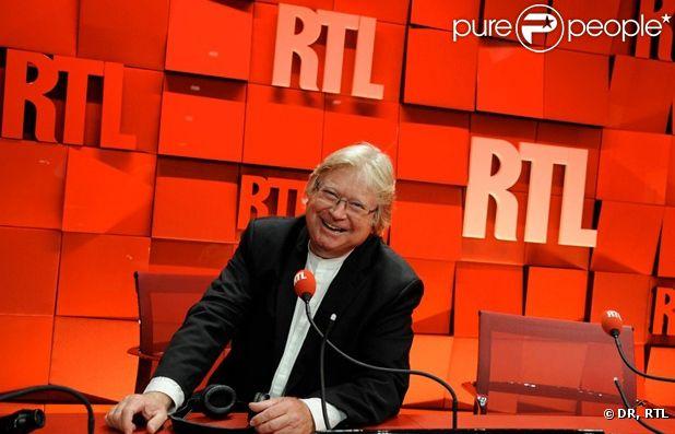 André Torrent, animateur de RTL depuis près de 40 ans.