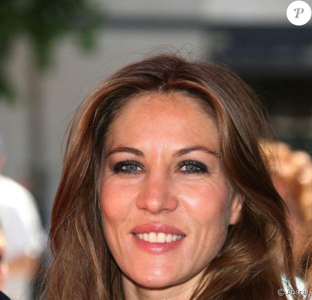 Mathilde Seigner à la Fête du cinéma, le 27 juin 2009, à Boulogne Billancourt