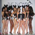 Le défilé coquin de The Blonds à la fashion week de New York, le 14 septembre 2011.