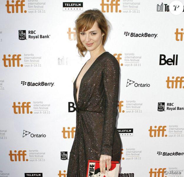 Louise Bourgoin lors de l'avant-première au festival de Toronto du film  Un heureux événement le 15 septembre 2011