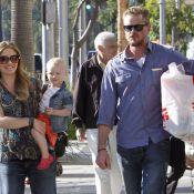 Rebecca Gayheart, enceinte, retrouve le sourire avec Eric Dane et leur fillette