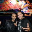 Tony Parker et DJ Cut Killer au Queen à Paris le 19 septembre 2011