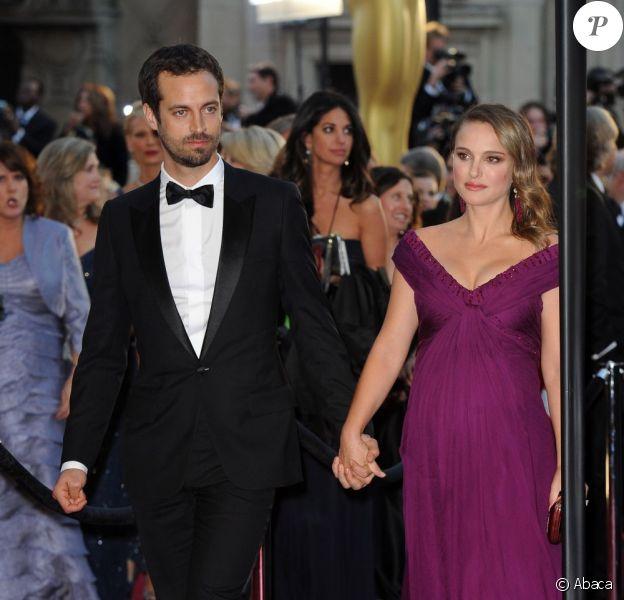 Natalie Portman et Benjamin Millepied en février 2011.