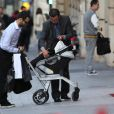 Natalie Portman, Benjamin Millepied et leur fils Alep le 7 et 8 septembre à Paris
