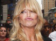 Goldie Hawn : Malgré son horrible moue, elle annonce une très bonne nouvelle