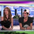 Alexandra et Simon dans les Anges de la télé réalité, vendredi 30 septembre 2011 sur NRJ 12