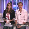 Jeny Priez et Matthieu Delormeau dans les Anges de la télé réalité, vendredi 30 septembre 2011 sur NRJ 12