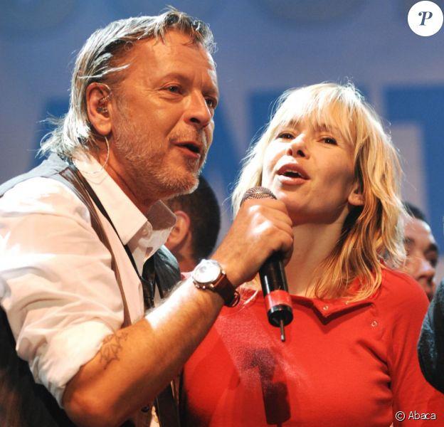 Renaud et Romane Serda, à Paris en novembre 2007.