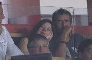 Julien Clerc et Pierre Sarkozy en admiration devant la petite perle du PSG