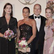 Caroline, Stéphanie et Albert de Monaco... sans Charlene, célèbrent le théâtre