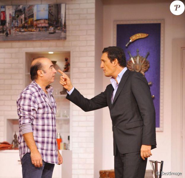Dany Brillant et Roland Marchisio jouent dans Mon meilleur copain, au Théâtre des Nouveautés.
