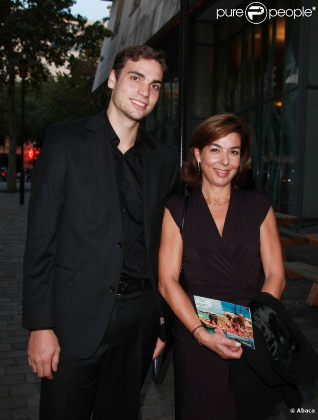 Valentin Livi et Carole Amiel le 26 septembre 2011
