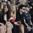 Nicole Richie et Joel Madden, au premier rang du défilé Louis Vuitton printemps-été 2012. Paris, le 5 octobre 2011.