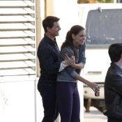 Tom Cruise et Katie Holmes, très complices, batifolent comme des ados