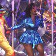 Rihanna en concert à Londres le 7 octobre 2011