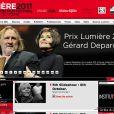 Gérard Depardieu s'est dit extrêmement ému d'être mis à l'honneur par le Festival Lumière, qui lui a décerné le 8 octobre à Lyon et devant ses amis du métier le Prix Lumière 2011 au regard de son oeuvre.