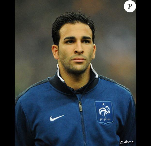 Adil Rami le 9 février 2011 à Saint-Denis