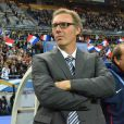 Laurent Blanc le 7 octobre 2011 au Stade de France à Saint-Denis