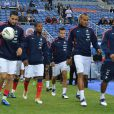 L'équipe de France le 7 octobre 2011 au Stade de France à Saint-Denis