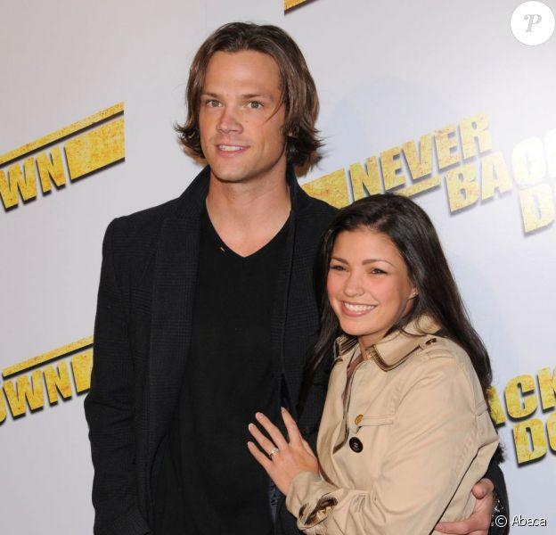 Jared Padalecki et son épouse Genevieve, à Los Angeles, en mars 2010.