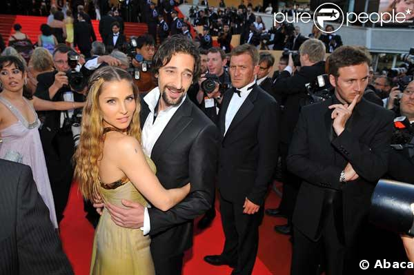 Adrien Brody couple