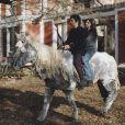 Un cheval, Charlotte Gainsbourg et Gael Garcia Bernal dans La Science des Rêves