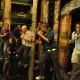 Toute la troupe de Sing Off et Michel Jonasz dans Sing Off, samedi 15 octobre 2011 sur France 2