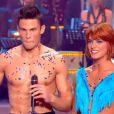 Baptiste Giabiconi et Fauve, torrides dans Danse avec les stars 2 sur TF1 le samedi 15 octobre 2011