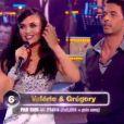 Valérie Bègue dans Danse avec les stars 2 sur TF1 le samedi 15 octobre 2011