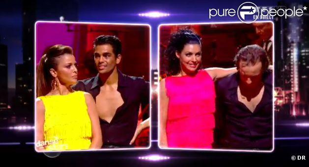 Nâdiya est éliminée de Danse avec les stars 2 sur TF1 le samedi 15 octobre 2011