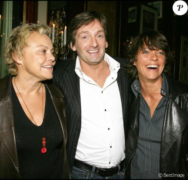 Muriel Robin, Anne Le Nen et Pierre Palmade en 2006.