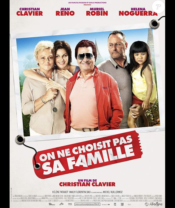 teaser du film on ne choisit pas sa famille de christian clavier en salles le 9 novembre 2011. Black Bedroom Furniture Sets. Home Design Ideas
