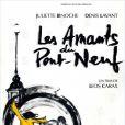 L'affiche des Amants du Pont-Neuf, une création de Juliette Binoche.
