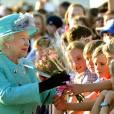 La reine Elizabeth II a atterri en Australie, à l'aéroport militaire de Canberra, mercredi 19 octobre 2011, pour sa seizième et possiblement dernière visite dans le pays.