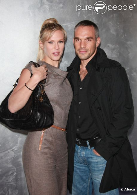 Lorie et Philippe Bas lors de la soirée Escada à Paris, le 20 octobre 2011