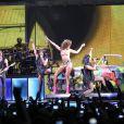 Rihanna, en concert à Paris Bercy le 20 octobre 2011