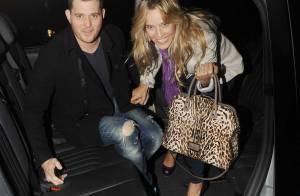 Michael Bublé et sa belle Luisana : Pour les amoureux, c'est déjà Noël