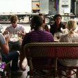 Les anges au restaurant dans les Anges de la télé-réalité 3, lundi 24 octobre 2011 sur NRJ 12