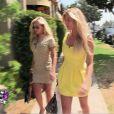 Annaëlle et Stéphanie dans les Anges de la télé-réalité 3, lundi 24 octobre 2011 sur NRJ 12