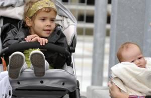 Jessica Alba: Entre les biberons et les bacs à sable, une maman poule à New York