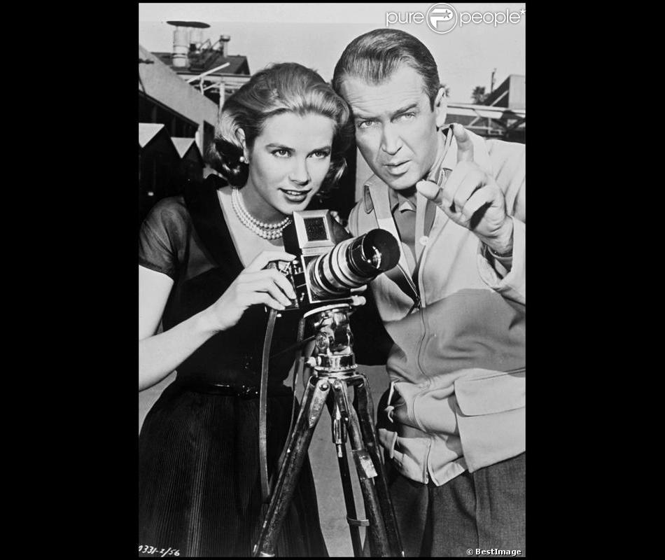 Grace kelly et james stewart dans fen tre sur cour for Grace kelly fenetre sur cour