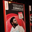 Corneille en showcase au Virgin Megastore des Champs-Elysées à Paris le 26 octobre 2011