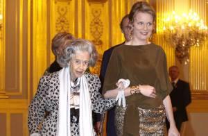 La princesse Mathilde fait son retour, de concert avec les royaux belges