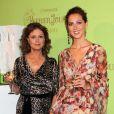 Eva Amurri et sa mère Susan Sarandon lors d'une soirée a New-York en juin 2011
