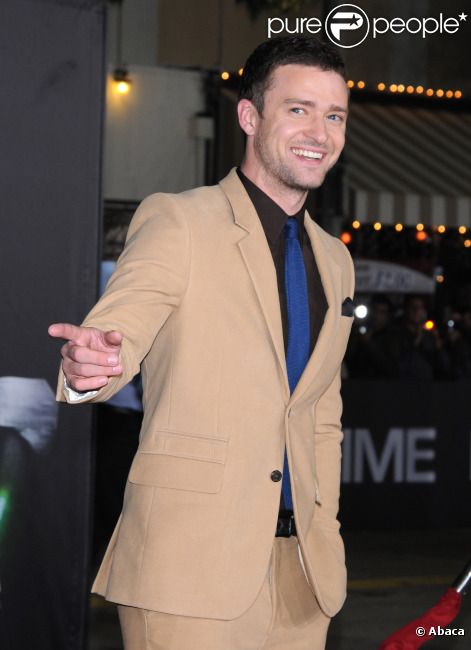 Justin Timberlake le 20 octobre 2011 à Los Angeles.