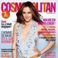 Leighton Meester venait séduire la France grâce au magazine Cosmopolitan. Novembre 2009.