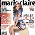 Leighton Meester, en couverture de Marie Claire. Août 2011.