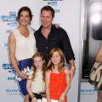 Brooke Shields en famille avec son mari Chris Henchy en juillet 2011